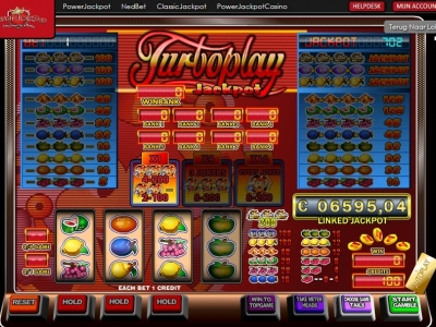 Turboplay jackpot gokkast