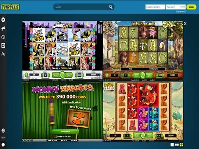 Thrills casino gokkasten